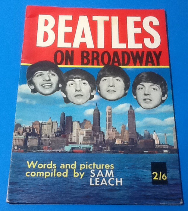 Beatles on Broadway Magazine 1964