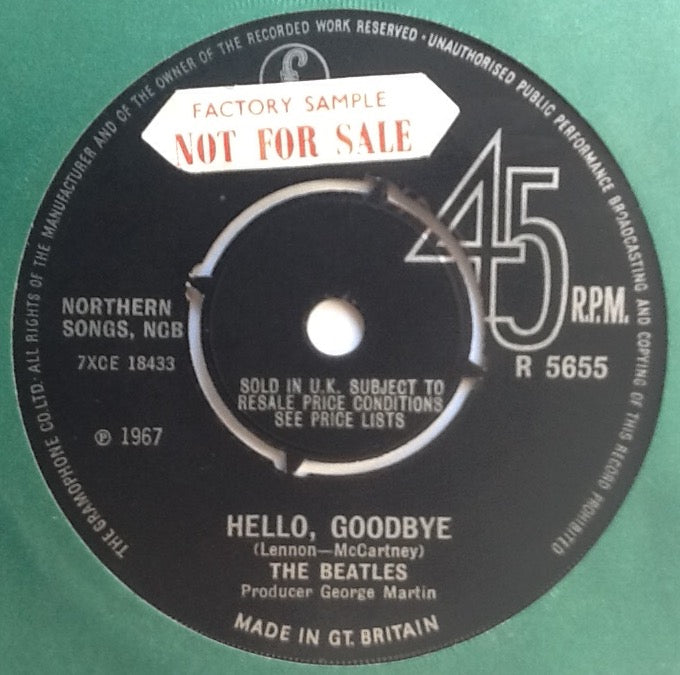 Beatles Hello Goodbye NMint 7