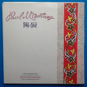 "Paul McCartney This One 7"" Ltd Edition Still Sealed Pack 1989"