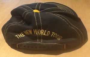 Beatles Paul McCartney New World Snap Back Tour Cap Hat 1993