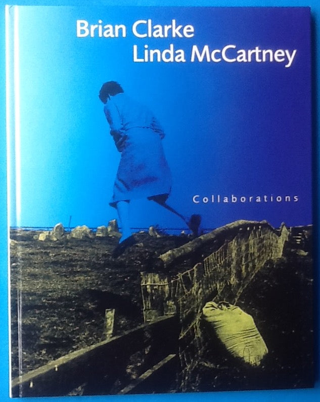 Linda McCartney Brian Clarke Collaborations Hardback Book 1997