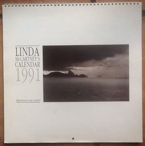 Beatles Paul Linda McCartney Fiends of the Earth Calendar 1991