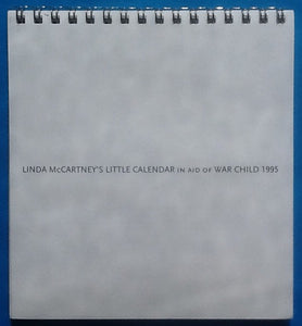 Beatles Paul Linda McCartney Little Calendar Desk Diary 1995