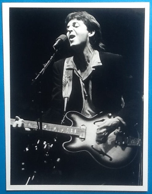 Beatles Paul McCartney Original Press Publicity Photo UK Tour 1979 1