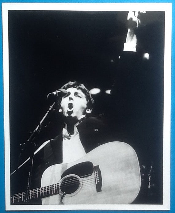 Beatles Paul McCartney Original Press Publicity Photo UK Tour 1979 7