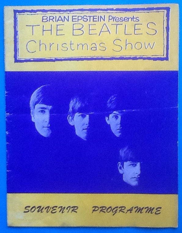 Beatles Original Concert Programme Christmas Show London 1963