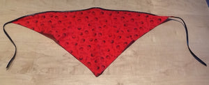Beatles Red Triangular Headband Scarf
