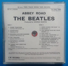 Load image into Gallery viewer, Beatles Abbey Road Reel To Reel Mono Tape Jewel Case Packing Slip UK 1969