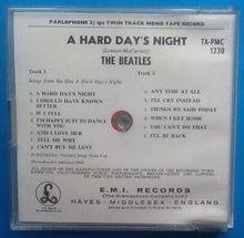 Load image into Gallery viewer, Beatles A Hard Day's Night Reel To Reel Mono Tape Jewel Case 1968