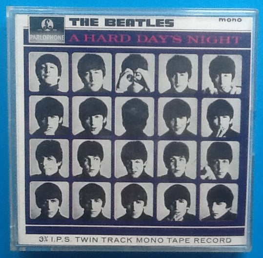 Beatles A Hard Day's Night Reel To Reel Mono Tape Jewel Case 1968