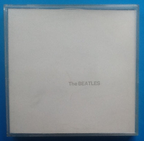 Beatles White Album Reel To Reel Mono Tape Jewel Case Packing Slip 1968