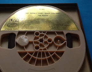 Beatles SGT. Peppers Lonely Hearts Club Band Reel to Reel Tape Stereo USA 1967