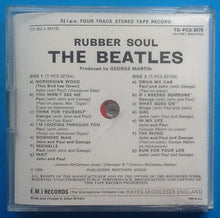 Load image into Gallery viewer, Beatles Rubber Soul Reel To Reel Stereo Tape Jewel Case Packing Slip 1968