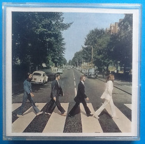 Beatles Abbey Road Reel To Reel Mono Tape Jewel Case Packing Slip UK 1969