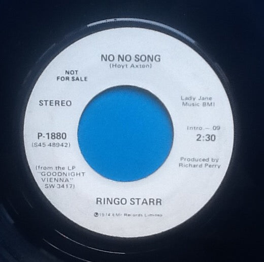 Ringo Starr No No Song 2 Track 7