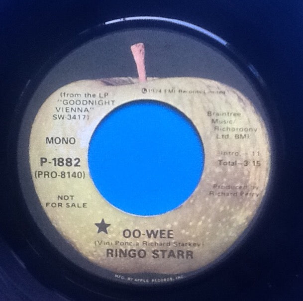 Ringo Starr Oo-Wee 2 Track 7