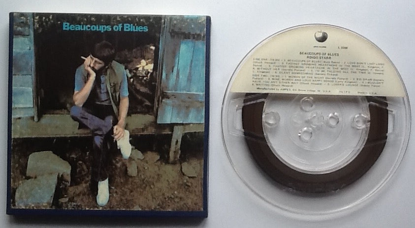 Beatles Ringo Starr Beaucoups of Blues Reel To Reel Tape 7 1-2 IPS Stereo USA 1970
