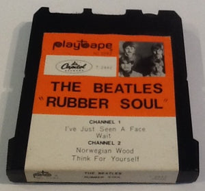Beatles Rubber Soul Original 2 Track 4 Song Cartridge Playtape Capitol 1967