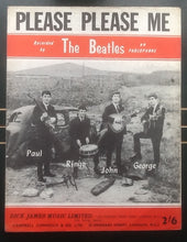 Load image into Gallery viewer, Beatles Please Please Me UK Sheet Music 1962