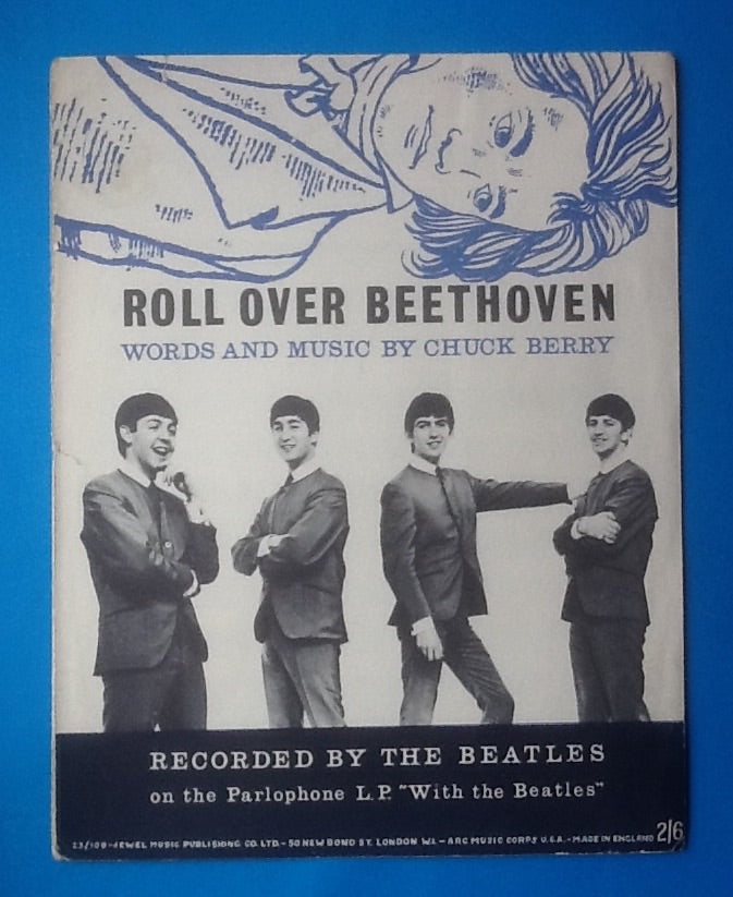 Beatles Roll Over Beethoven UK Sheet Music