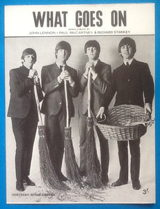 Beatles What Goes On Sheet Music 1965