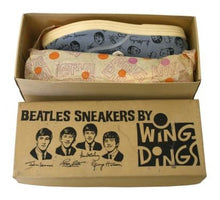 Load image into Gallery viewer, Beatles Wing Dings  Blue Sneakers 1964