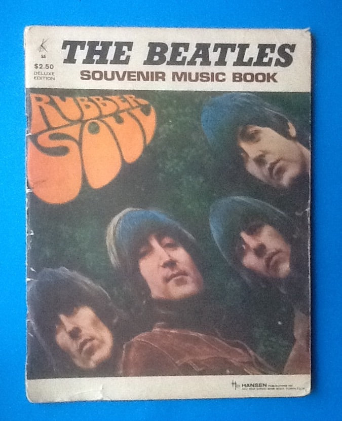 Beatles Souvenir Music Book Rubber Soul 1966