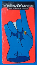 Load image into Gallery viewer, Beatles The Glove Original Yellow Submarine Switch Plate Cover 1968