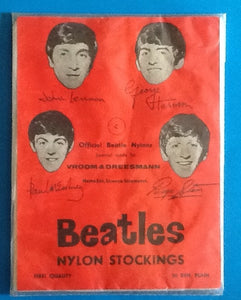 Beatles Original Unused Still Sealed Stockings