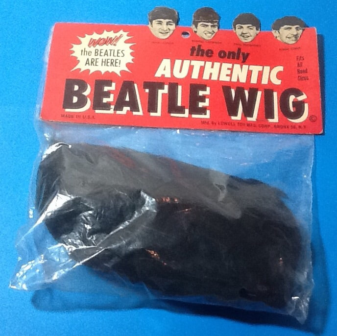 Beatles Original Authentic Unopened Wig by Lowell