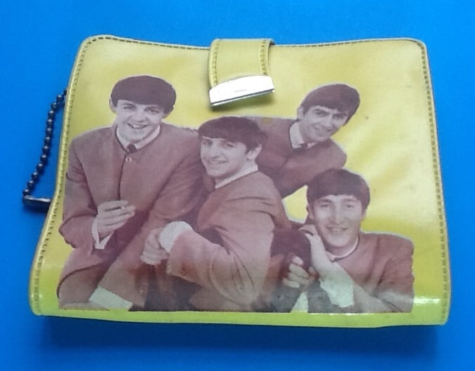 Beatles Original Yellow Wallet