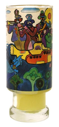 Beatles Yellow Submarine Candle