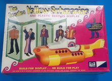 Load image into Gallery viewer, Beatles Original Yellow Submarine Model Still Sealed 1968