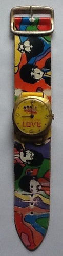 Beatles Yellow Submarine Extremely Rare Wrist Watch Sheffield 1968