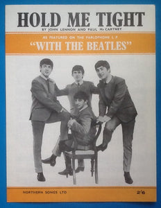 Beatles Hold Me Tight Sheet Music 1963