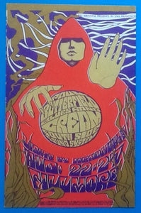 Cream Handbill Flyer Postcard San Francisco 1967