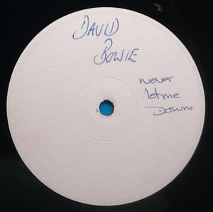 "David Bowie Never Let Me Down NMint 4 Track 12"" Promo UK 1987"