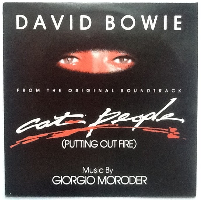 David Bowie Cat People (Putting Out Fire) 2 Track NMint 12