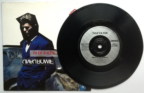 David Bowie Miracle Goodnight 2 Track NMint 7