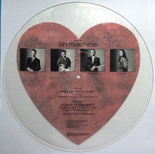 Load image into Gallery viewer, David Bowie Tin Machine Prisoner of Love 2 Track NMint Uncut Shaped Picture Disc UK 1989