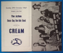 Load image into Gallery viewer, Cream Programme London 1967