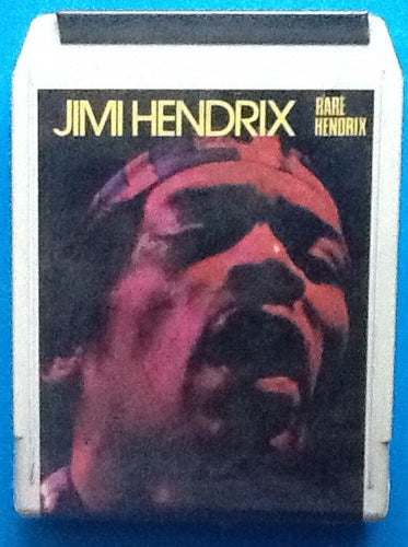 Jimi Hendrix Rare Hendrix Still Sealed 8 Track Cartridge Trip 1972