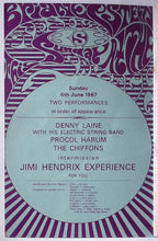 Load image into Gallery viewer, Jimi Hendrix Experience Original Concert Programme Saville Theatre London 1967
