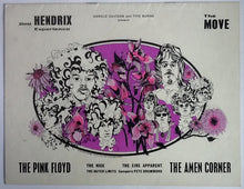 Load image into Gallery viewer, Jimi Hendrix Experience Pink Floyd Rare Original Concert Programme UK Tour 1967