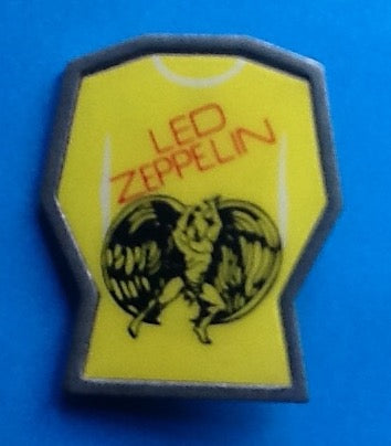 Led Zeppelin Original Vintage Swan Song Enamel - Metal Pin Badge