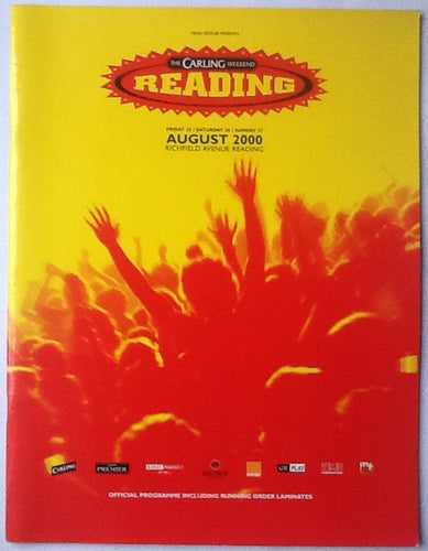 Oasis Muse Stereophonics Original Concert Programme Reading Festival 2000