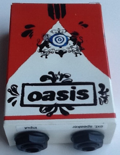 Oasis Dig Out Your Soul Promo Smokey Cigarette Box Guitar Amp 2008