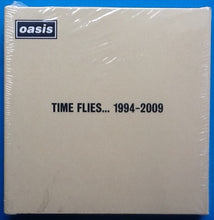 Load image into Gallery viewer, Oasis Time Flies 1994-2009 Still Sealed Promo 26 Postcard Set 2010