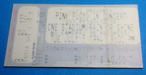 Pink Floyd Ticket Toronto 1994
