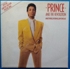 "Prince and the Revolution Anothloverholenyohead Rare 7"" 2 Track NMint Vinyl with Poster Bag UK 1986"